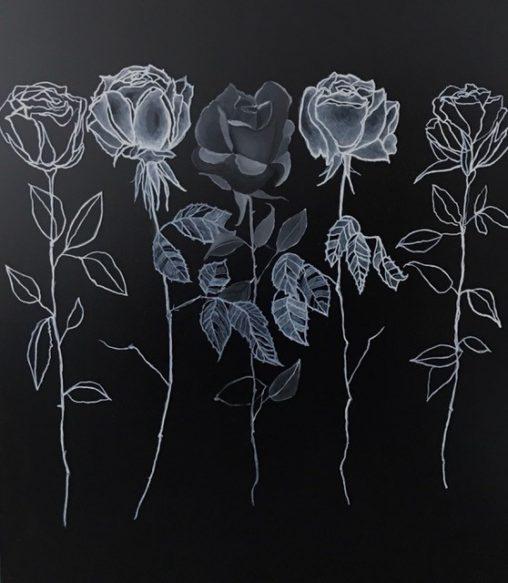 Kimberly DuRoss - Black Ghost Rose