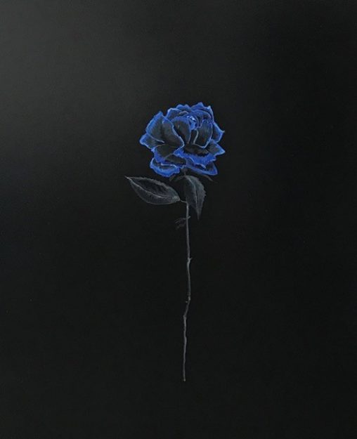 Kimberly DuRoss - Black and Blue Rose