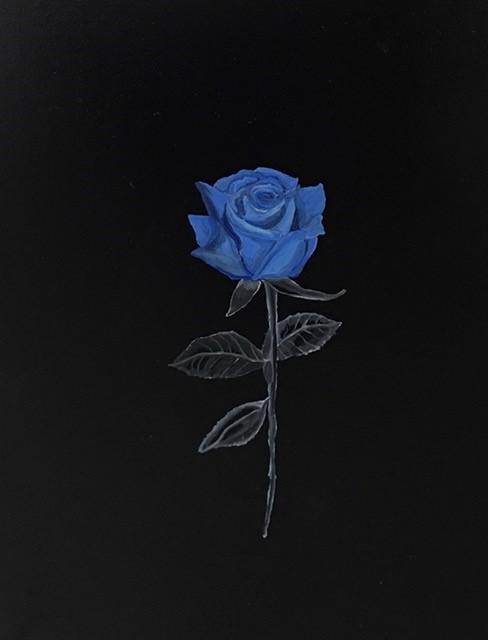 Blue Rose For Mother