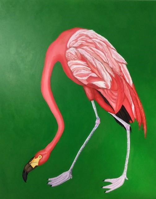 Kimberly DuRoss - Coral Flamingo