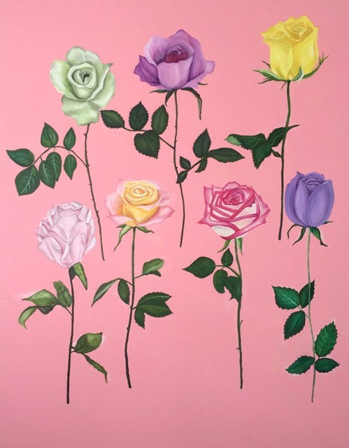 Kimberly DuRoss - Rainbow Roses