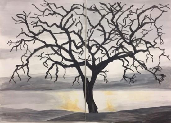Kimberly DuRoss - Tree Divided